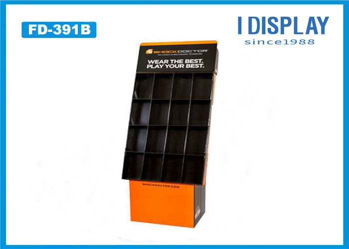 Recyclable Cardboard Pallet Display , Side  Cardboard Pop Up Displays For CD / DVD