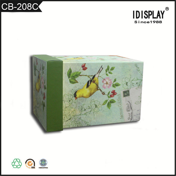 Popular Shape Colored Gift Boxes , Paper Packaging Boxes Customized Design